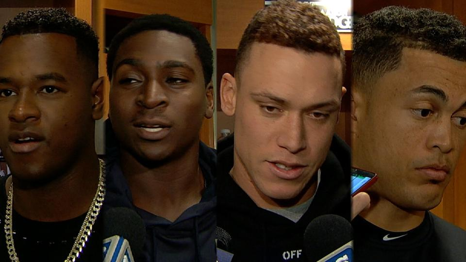 Yankees on big win over Marlins