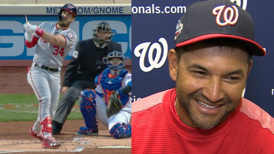 Martinez on Harper's homer
