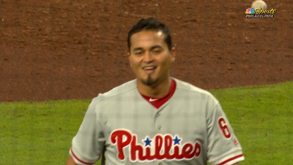 Arano's three-pitch 8th