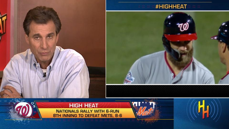 High Heat: Nationals' rally