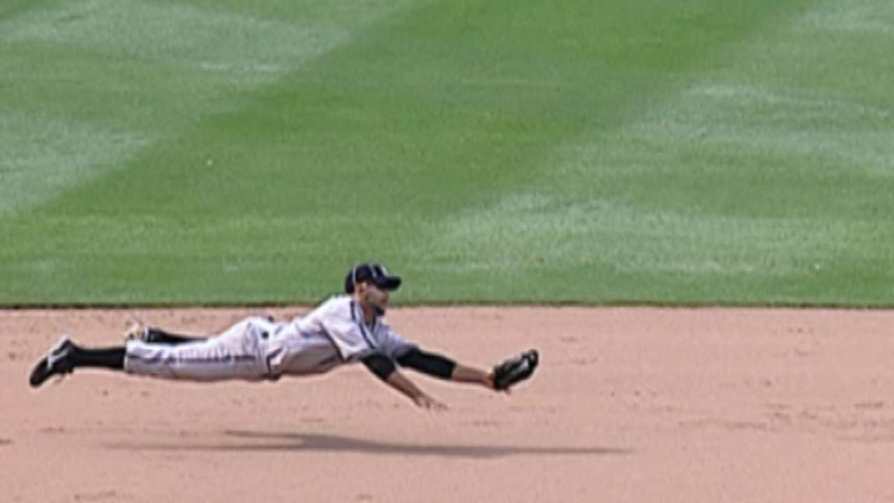 Newest Brave Jose Bautista's third-base highlights | MLB com