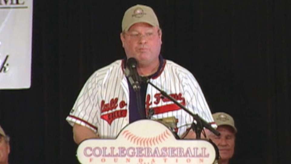 Bob Horner induction speech