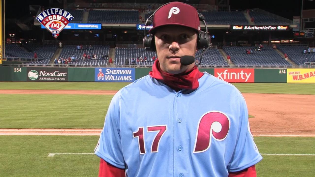 Hoskins joins MLB Tonight