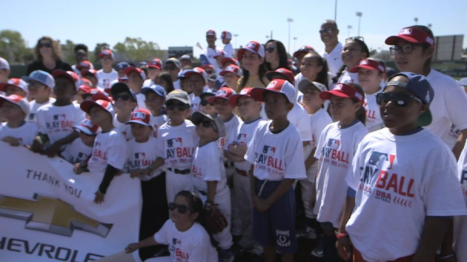 Chevy Play Ball Compton Event