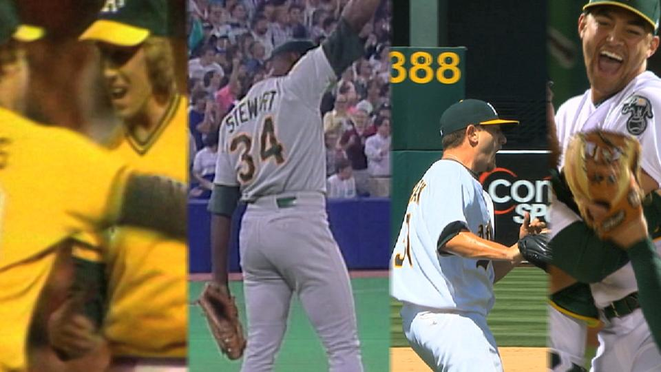 Most recent A's no-hitters