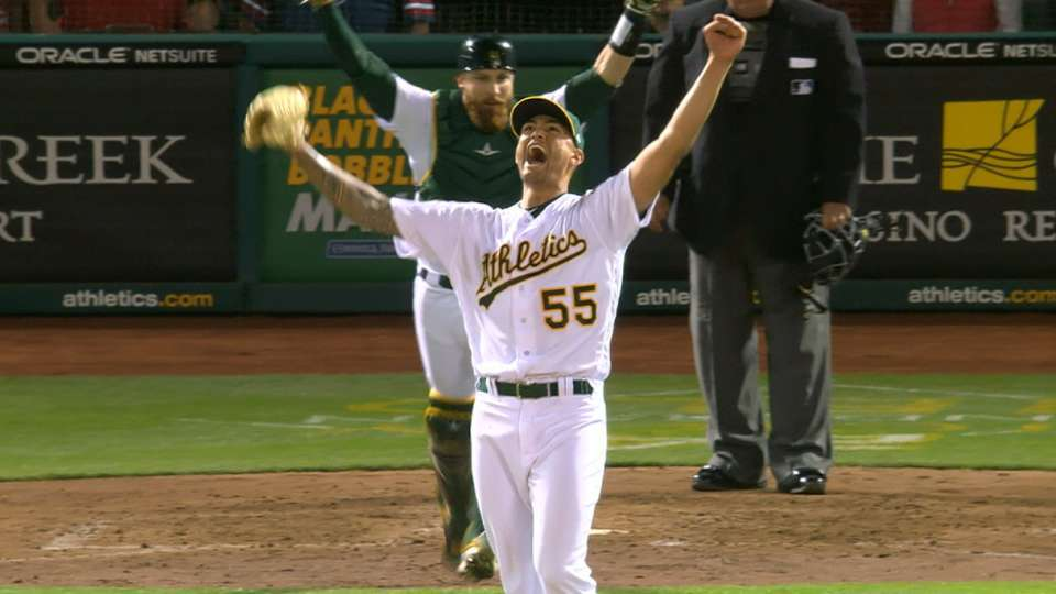 Must C: Manaea throws no-hitter