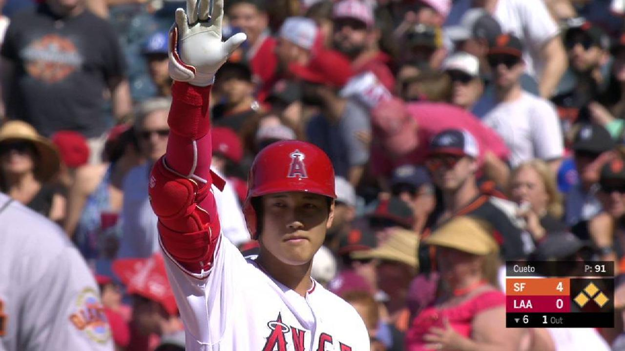 Shohei Ohtani Batting Cleanup For Angels Extra Fan Suzuki Carry Goes 1 4 In First Game At
