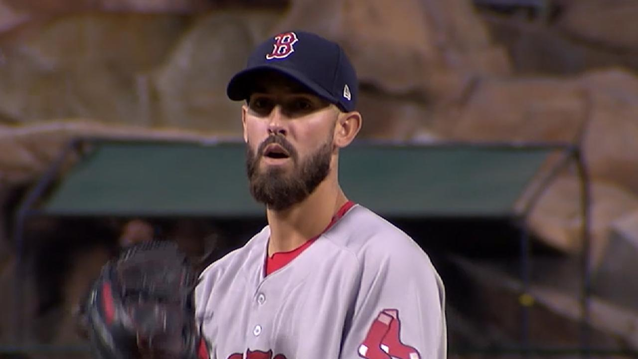 Porcello's evolution as pitcher