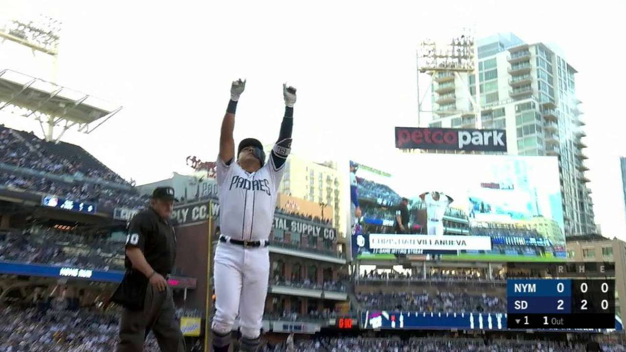 Villanueva's 2-run homer