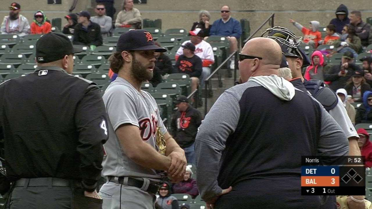 Daniel Norris makes first rehab appearance   Detroit Tigers