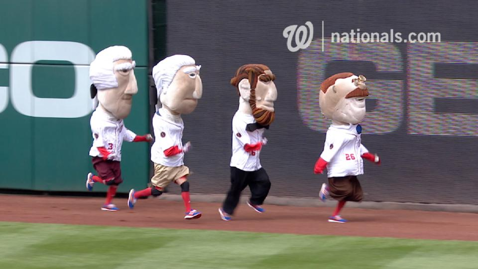 April 29 Presidents Race