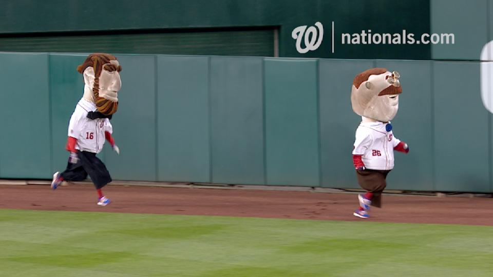 April 30 Presidents Race