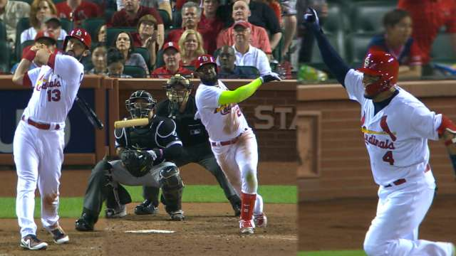 Cards rally win on yadier molinas walk off st louis cardinals fandeluxe Image collections
