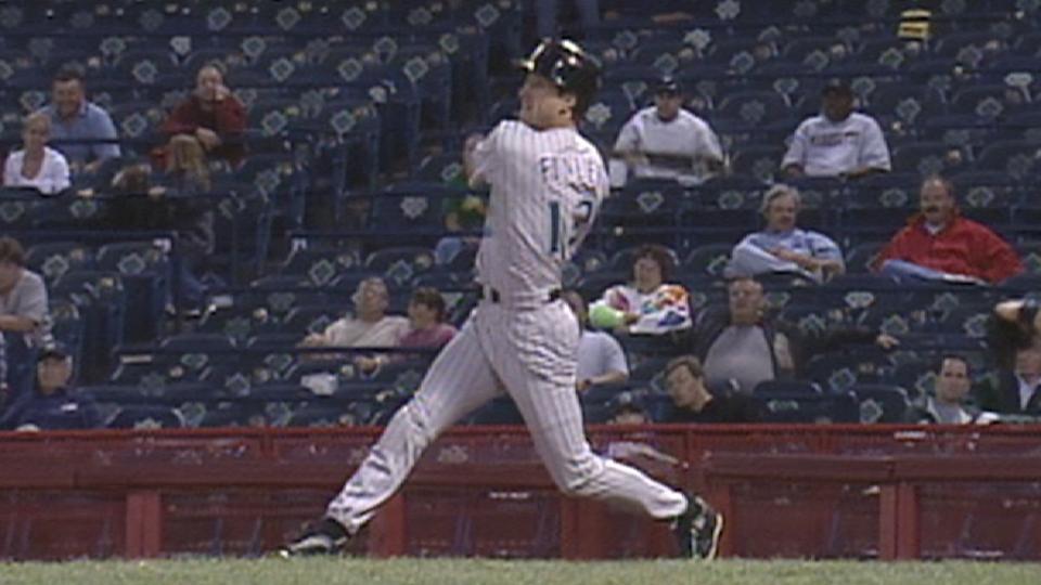 Finley's three home runs