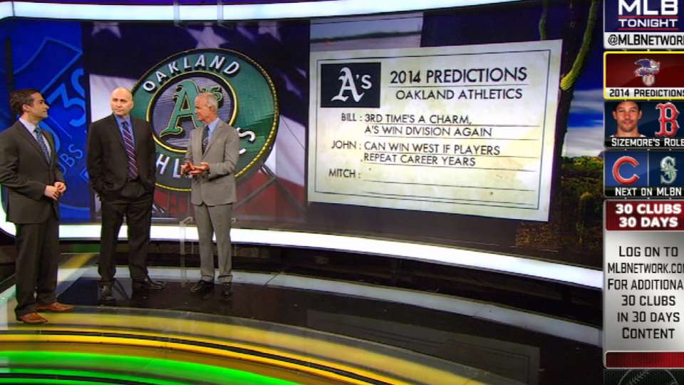 Predictions for the 2014 A's