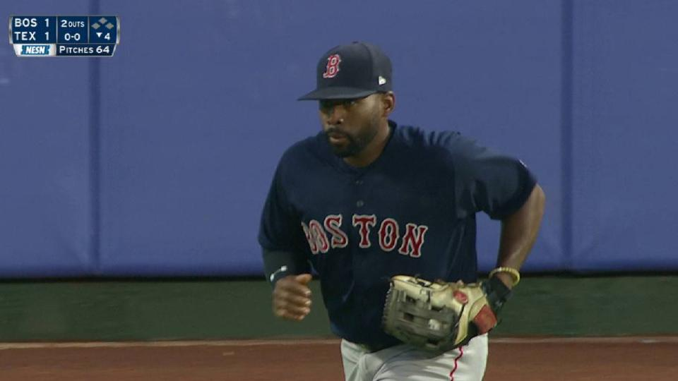 Bradley Jr.'s running catch