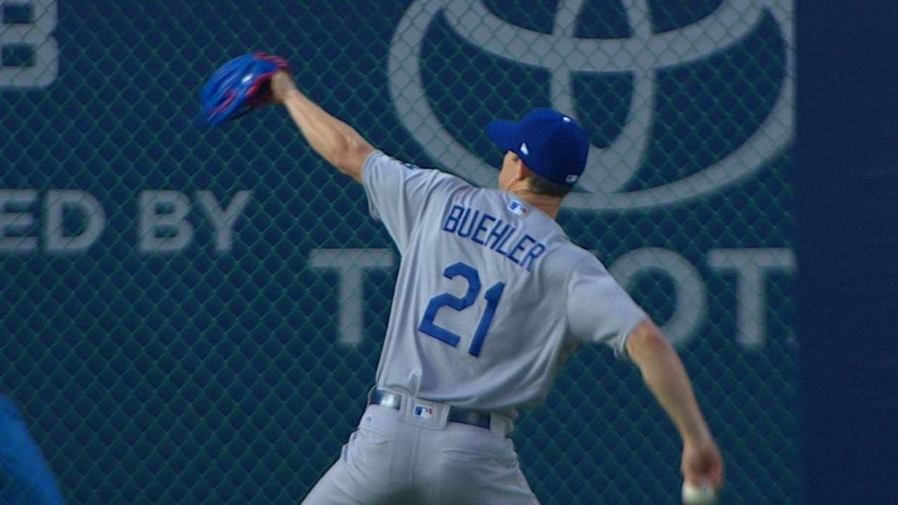 Buehler's 6 no-hit frames