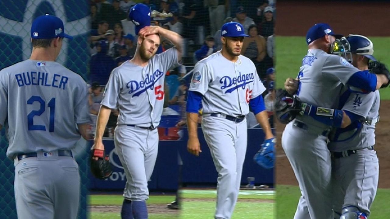 Dodgers toss no-hitter
