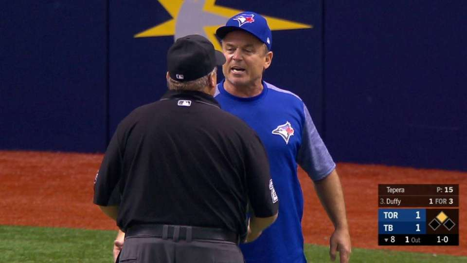 Gibbons ejected after balk