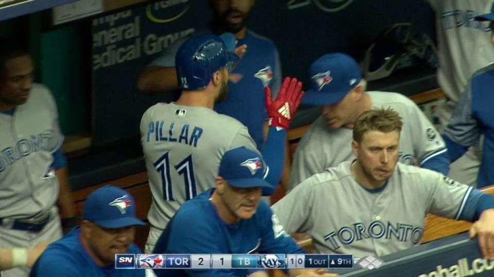 Pillar scores on wild pitch