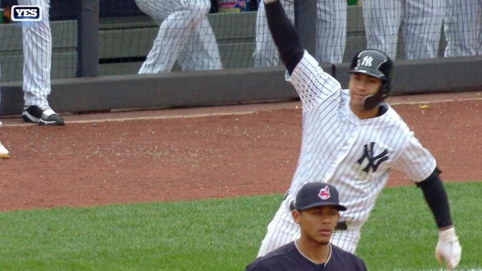 Torres' walk-off 3-run home run