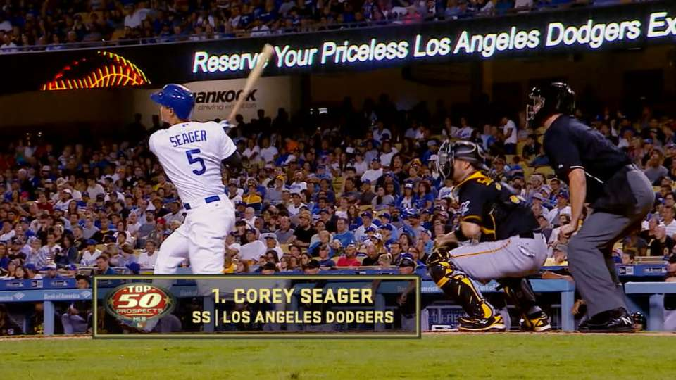 Seager is ranked No. 1 prospect