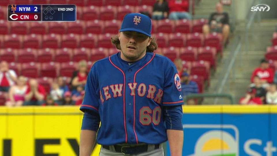 Conlon's first career strikeout