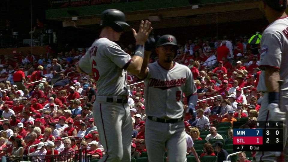 Escobar's towering 2-run homer