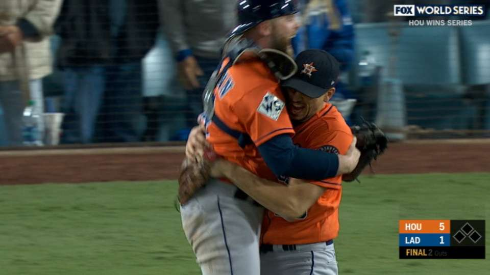 Astros win the World Series