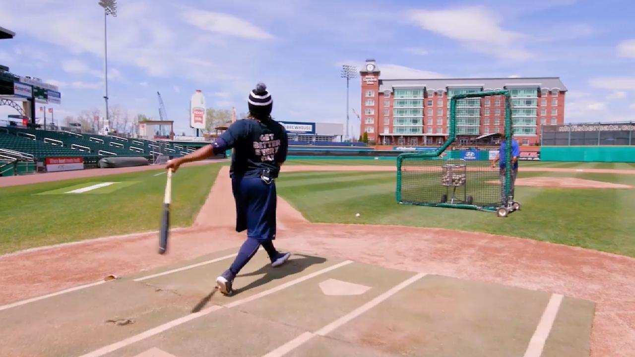 Guerrero Jr. on keys to hitting