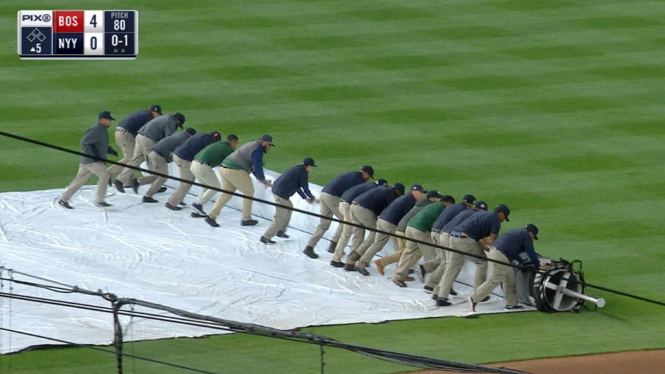 Red Sox-Yankees have rain delay