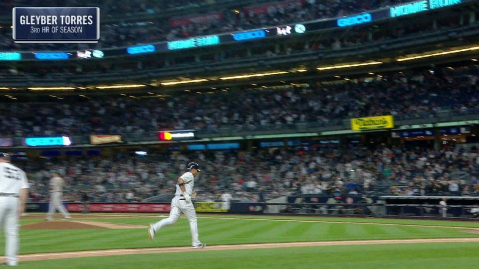 Torres' solo home run