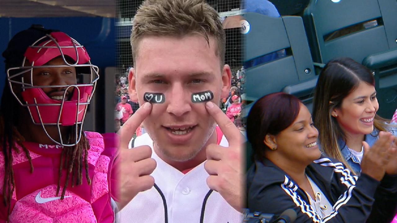 fbafaa1016c Here s how MLB celebrated Mother s Day in 2018. Happy Mother s Day from MLB
