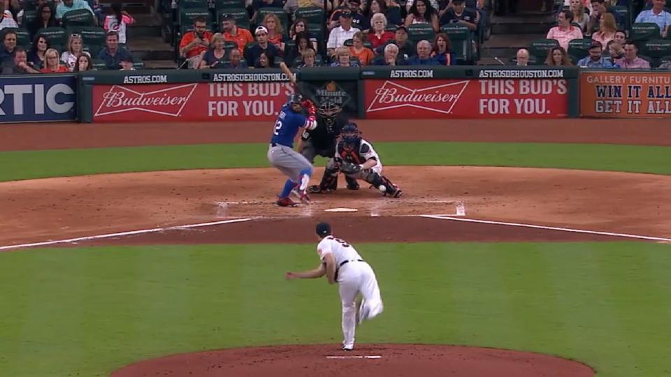 Darling on Astros' rotation