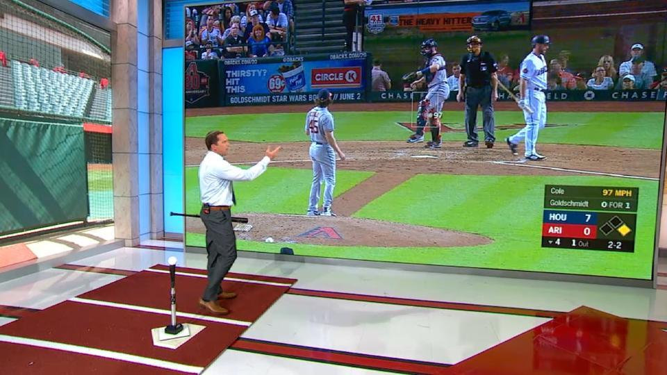 MLB Central: DeRo on Goldschmidt