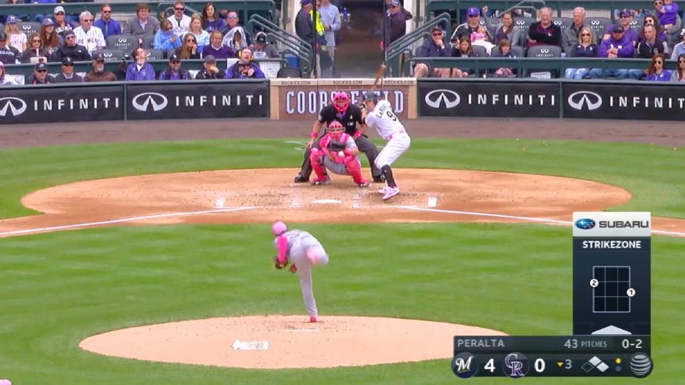 MLB Central: Peralta's Debut