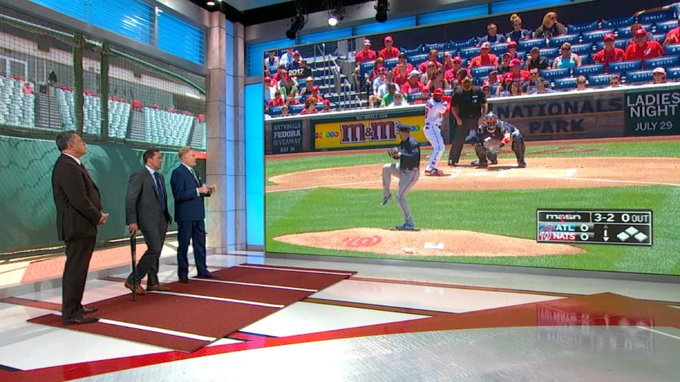 MLB Central: Harvey and Newcomb