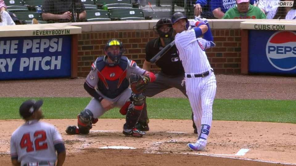 Almora Jr.'s 2-run homer