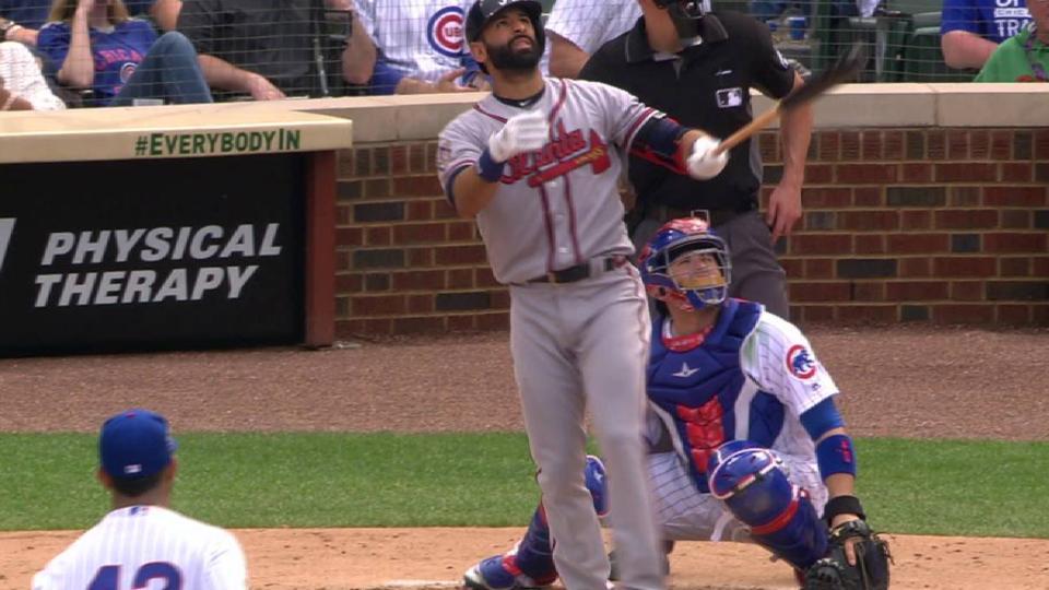 Bautista's 3-run home run