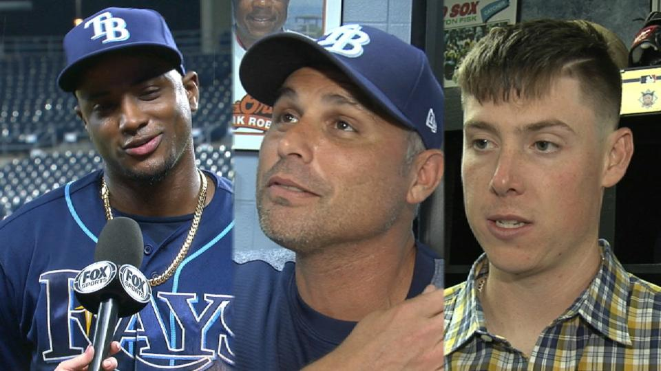 Rays on 2-1 win in KC