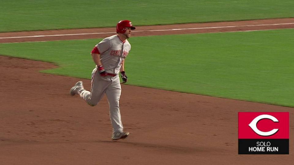 Schebler's solo home run