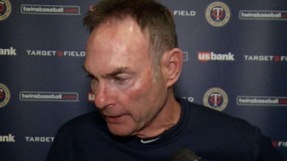 Molitor on 1-0 loss to Mariners