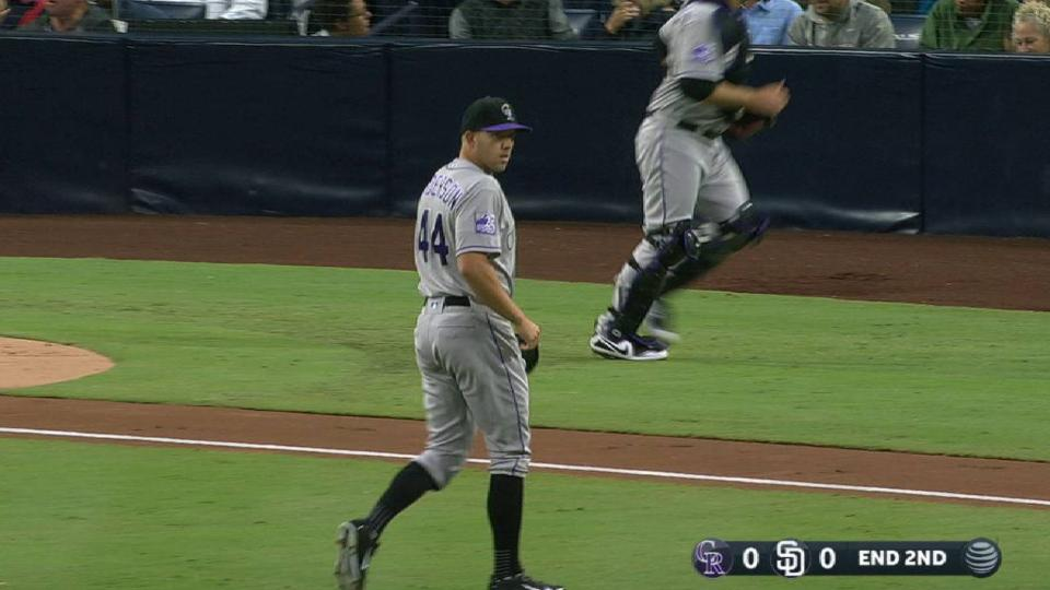 Anderson strikes out Reyes