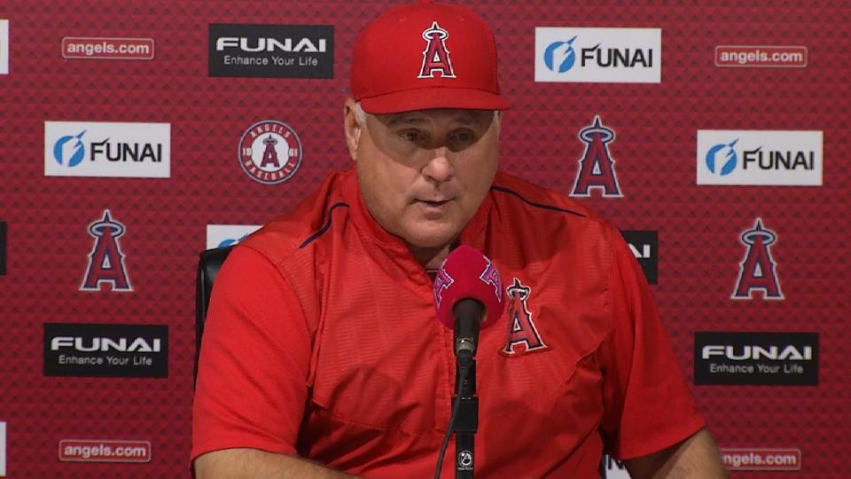 Scioscia on Heaney's outing, win
