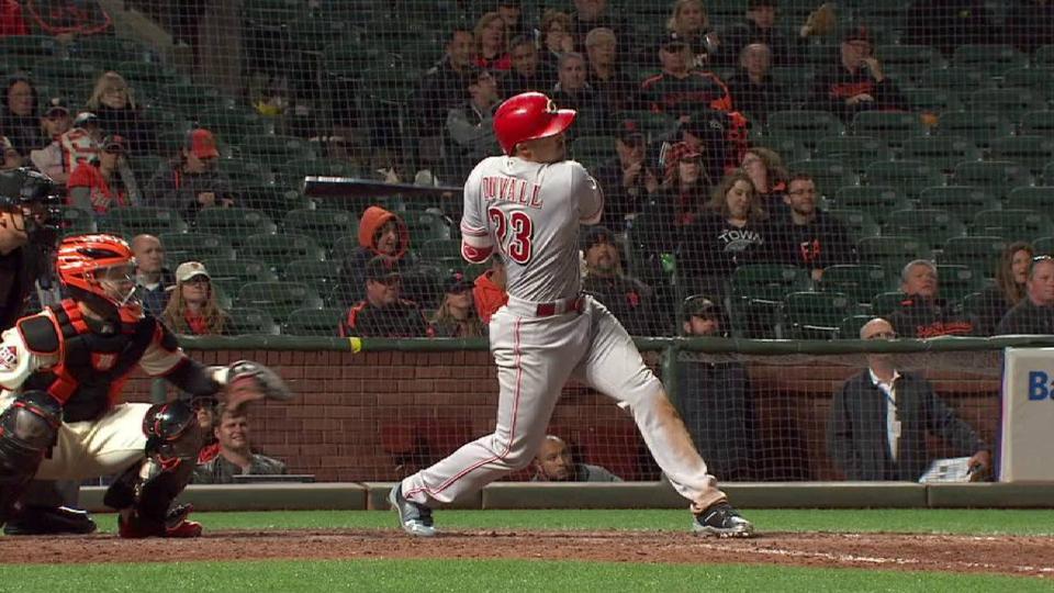 Duvall's 3-run home run