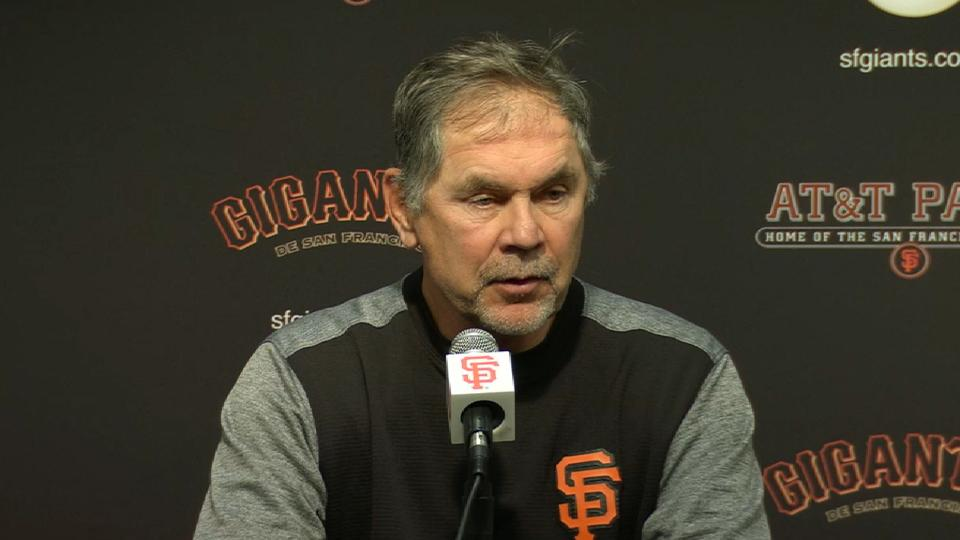 Bochy discusses win over Reds