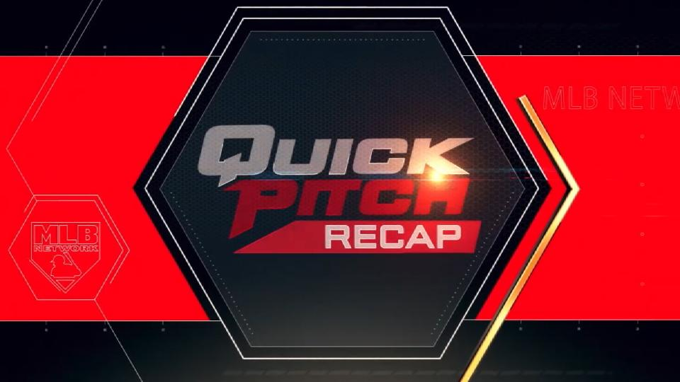 Quick Pitch recap: 5/14/18