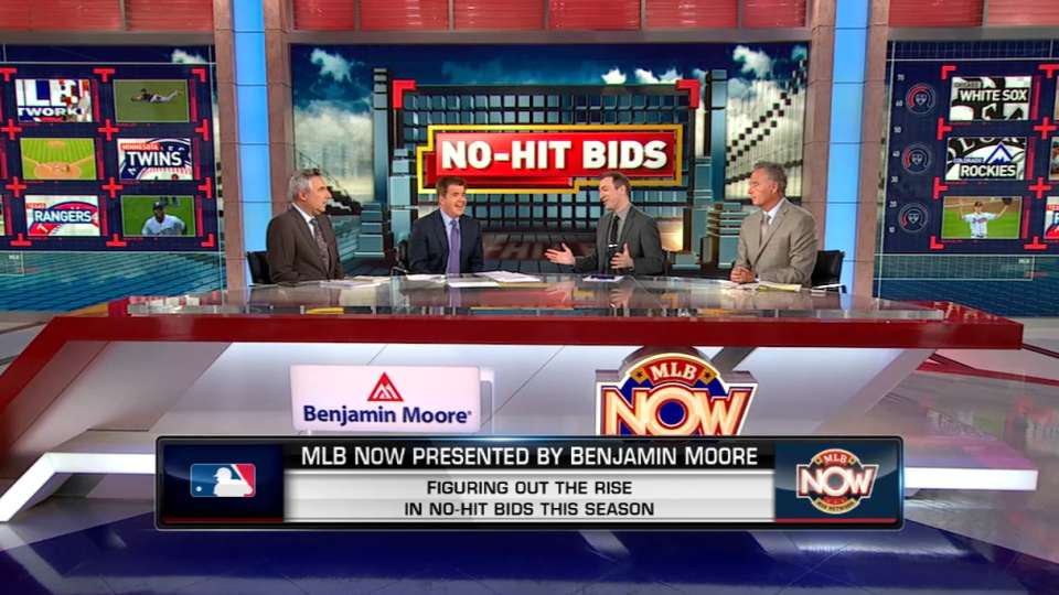 MLB Now: No-no's on the rise