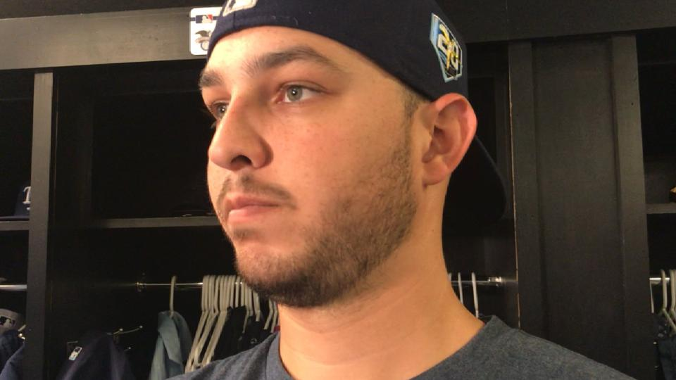 Faria on pitching vs. Royals