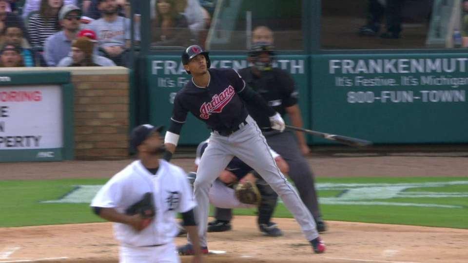 Gonzalez's first homer of 2018